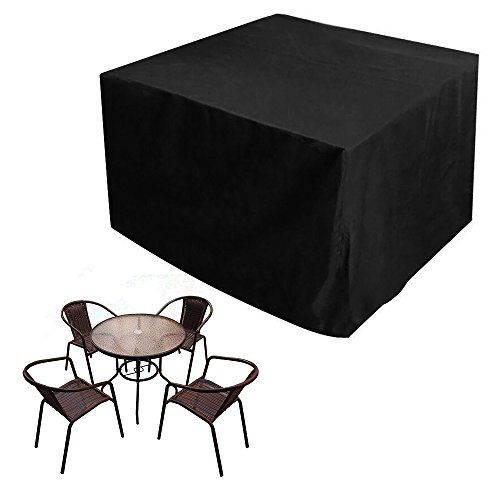 JTDEAL Garden Furniture Cover Oxford Polyester Waterproof Patio Furniture  Table Covers Outdoor Furniture Covers For Rattan