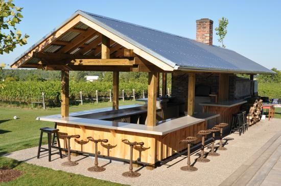 Ravine Winery Restaurant Outdoor kitchen bars, Outdoor