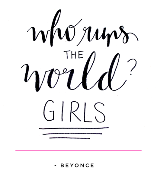 Quotes Calligraphy Enchanting 32 Inspiring Af Feminist Quotes That'll Give You All The Feels