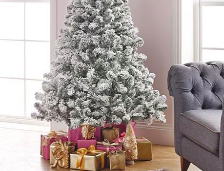 Asda is selling a Christmas tree with hundreds of five