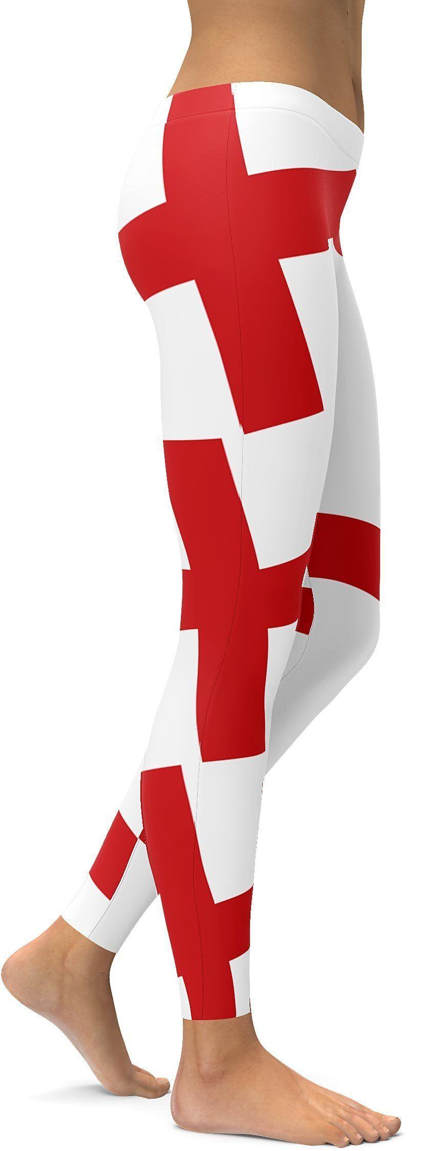 English flag leggings with images english flag soft