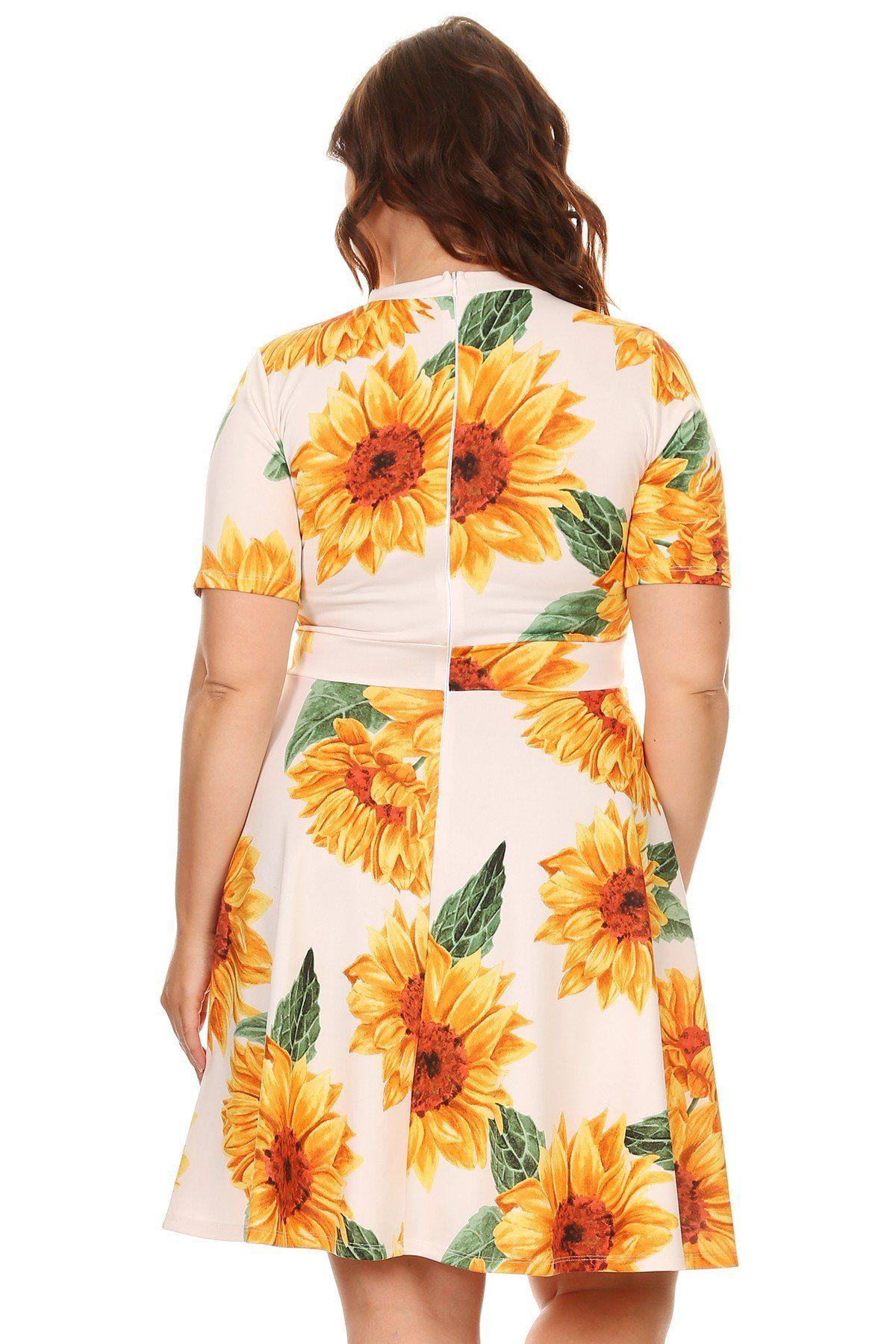 Sunflower Midi Dress Dresses Midi Dress Clothes [ 1800 x 1200 Pixel ]