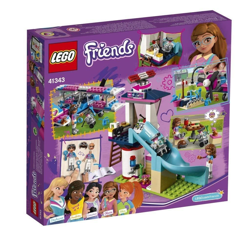 Lego Friends 41343 Heart Lake City Airplane Tour 323 Piece 2018 New Product Lego Friends Lego Lego Building Sets