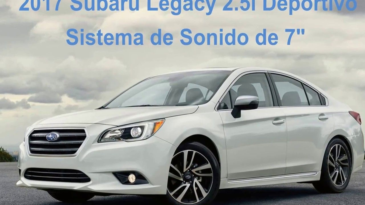 2017 Subaru Legacy 2.5i Sport [Sistema de sonido del