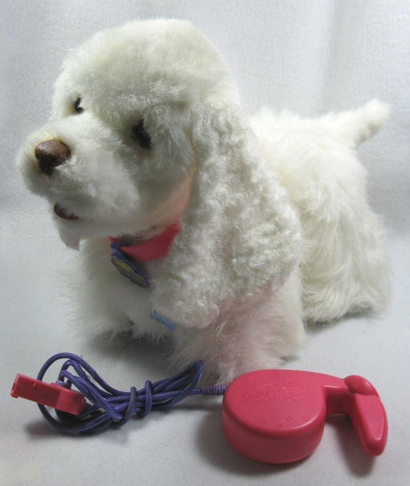 Puppy Fur Real Friends Gogo My Walking Puppy Dog Hasbro White