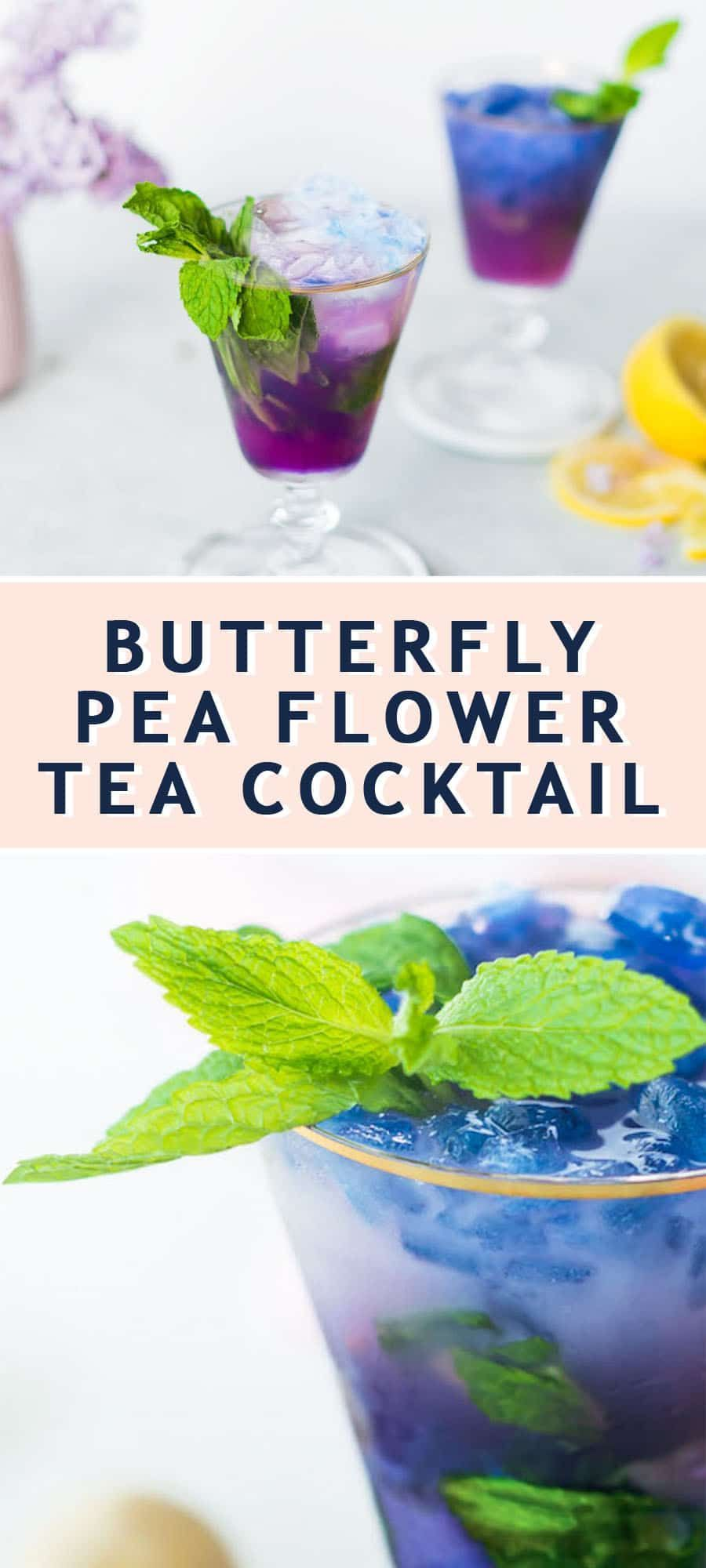 How To Make A Butterfly Pea Flower Tea Cocktail Recipe
