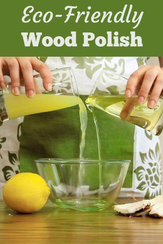 Make Easy Eco Wood Polish with Just 2 Ingredients | Haushaltstipps ...