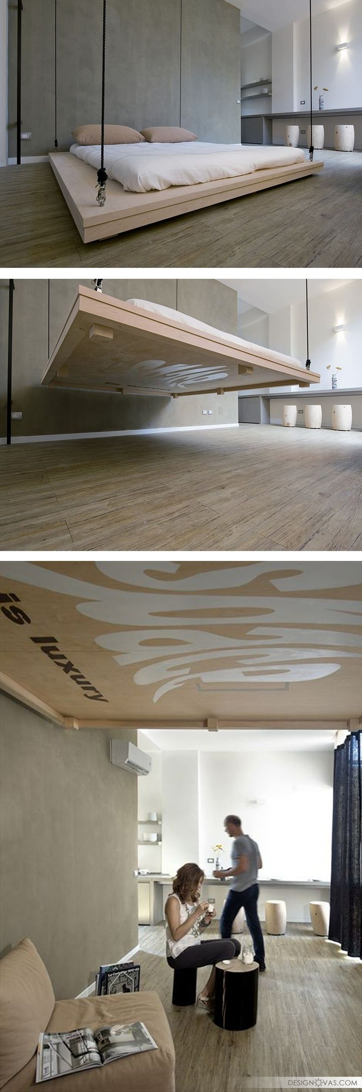 31 stylish floating bed design ideas bed awesome house rh pinterest nz