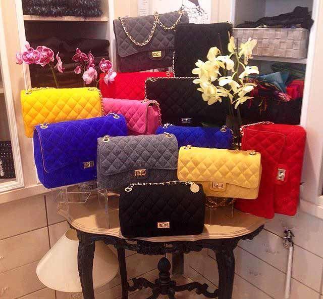 Alcuni modelli della collezione di borse 21Rue