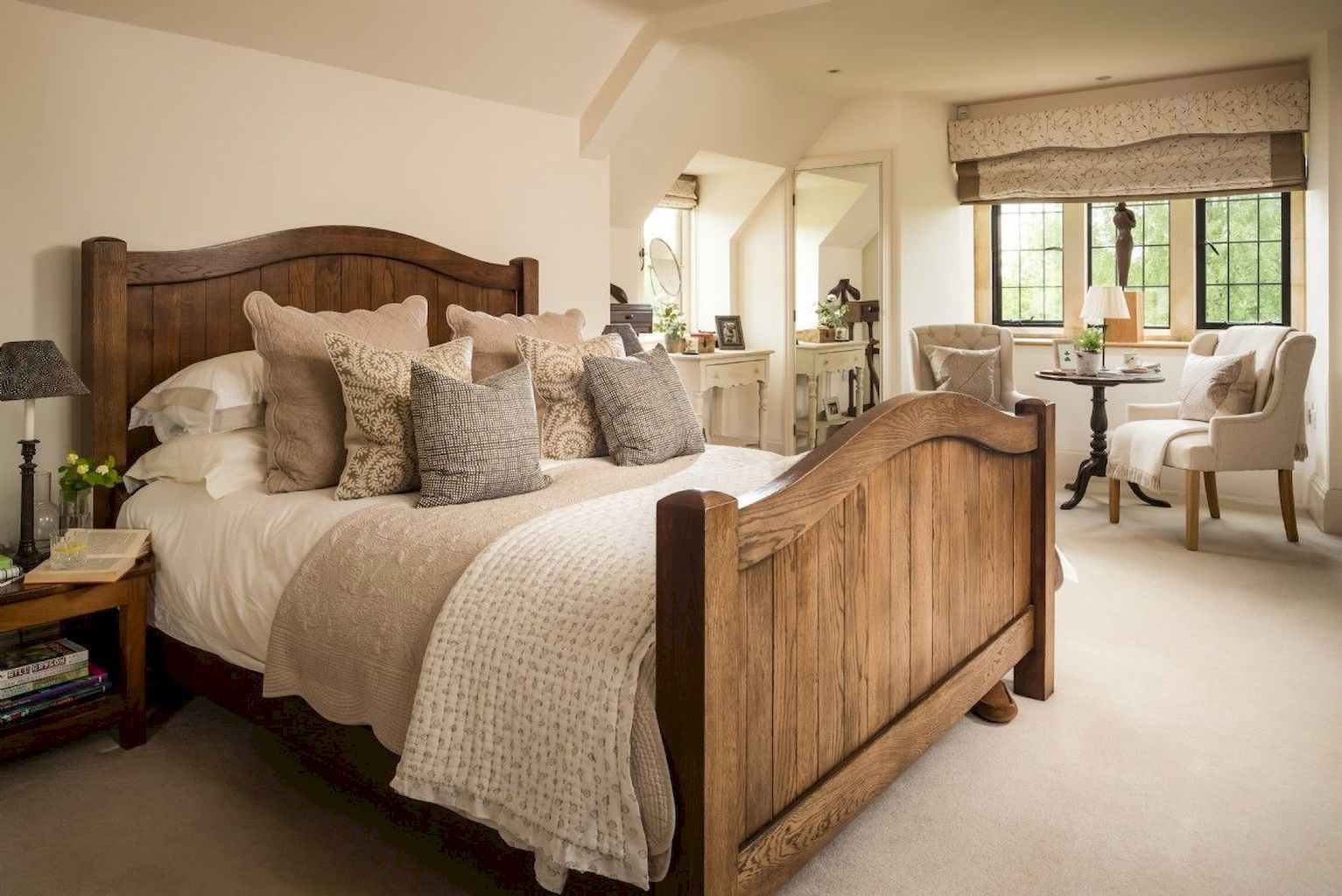29 Rustic Master Bedroom Ideas  Country cottage bedroom, Rustic