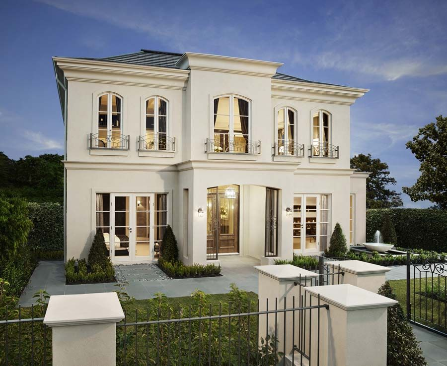 Modern Georgian Home Google Search Facade House French Style