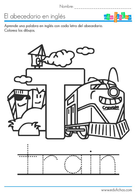 Descarga nuestro cuadernillo del abecedario en ingls en PDF