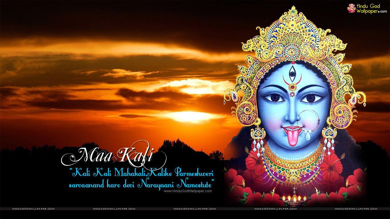Maa Kali Face Wallpaper Free Download Maa Kali Wallpapers