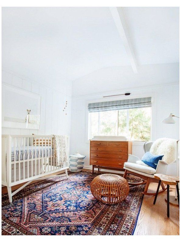 Photo of midcentury modern kids room
