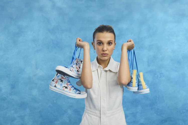 Millie Bobby Brown Has Her Own Converse Collab Complex With