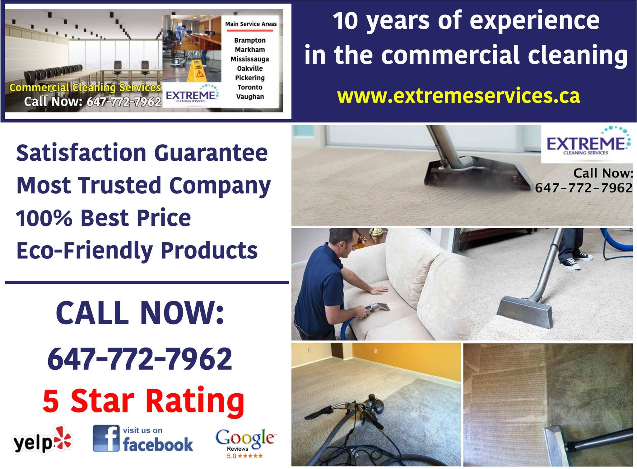 Extreme cleaning services is one of torontos top cleaning