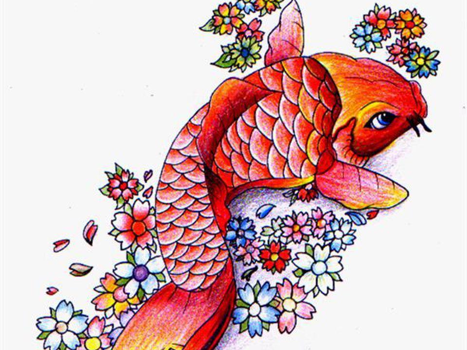 Tatuajes pez koi significado y dise o tatuaje pez koi for Comida para carpas koi