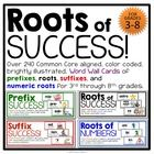 Roots of Success - Word Wall of Roots and Affixes - Common