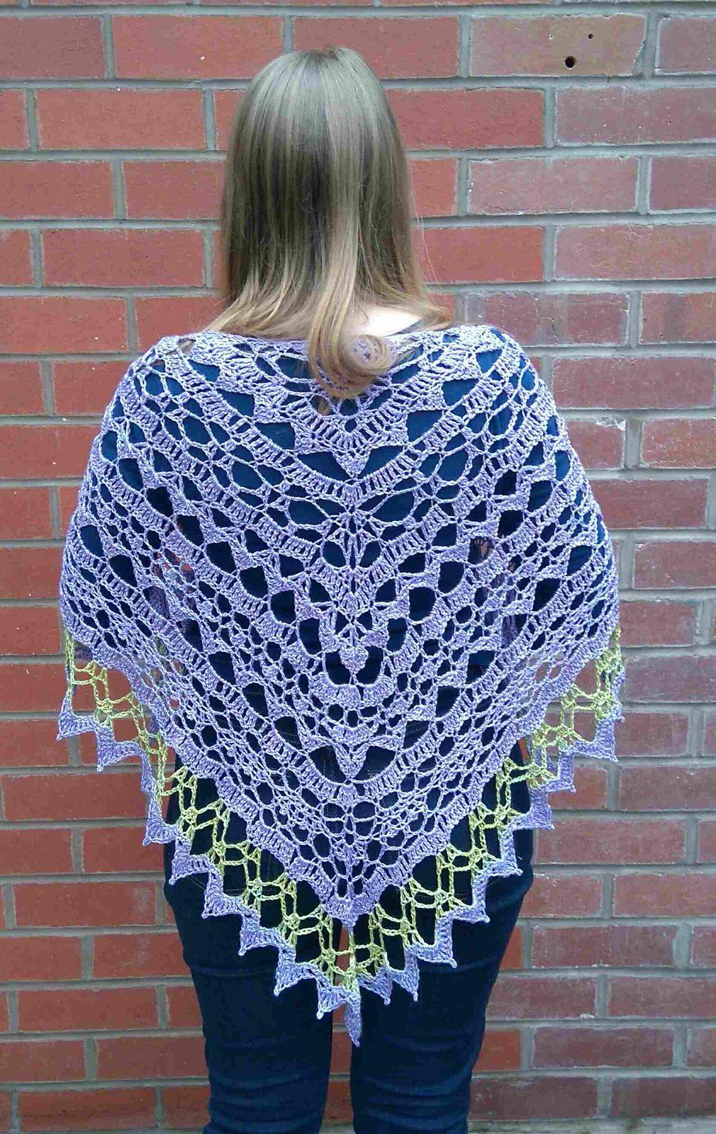 Taivas Shawl By Jasmin Räsänen - Free Crochet Pattern - (ravelry ...