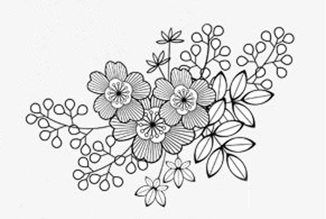 Pin de Meli Zapata en dibujos para bordar | Pinterest | Bordado ...