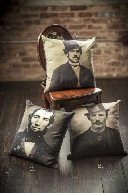 Printed Throw Pillows by Vagabond Vintage®