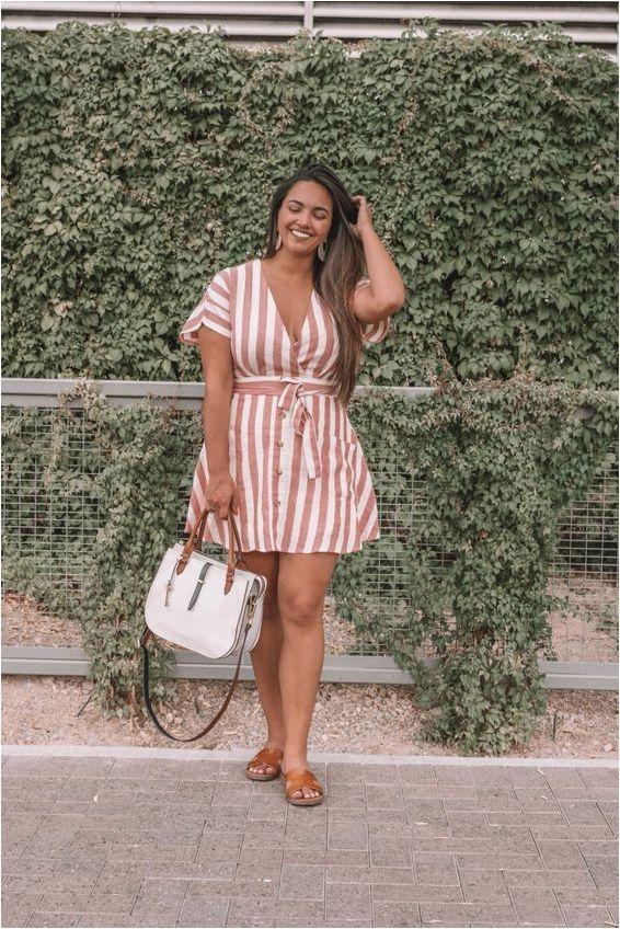 Strip dress source curatedbykirstencom -   13 dress Summer curvy ideas