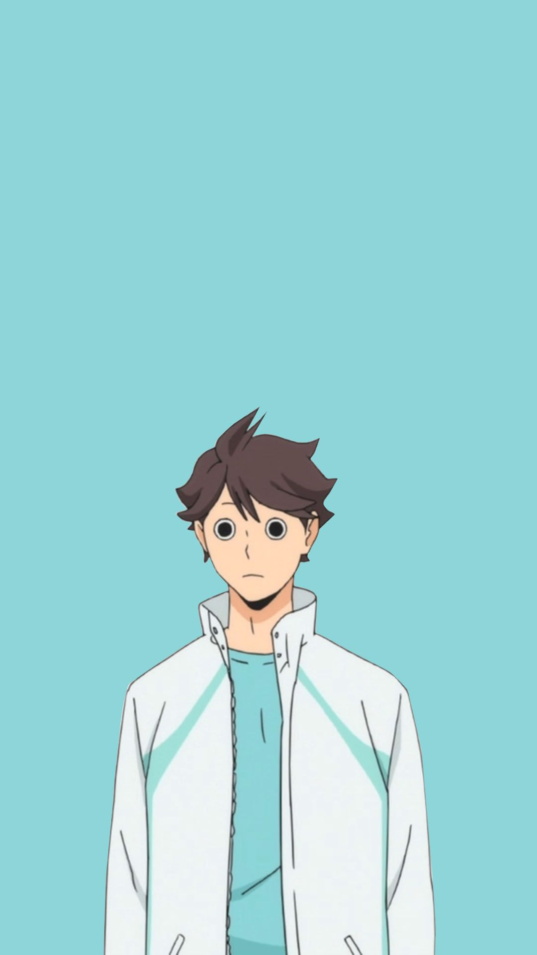 oikawa trashcan speechlessness wallpaper Haikyuu