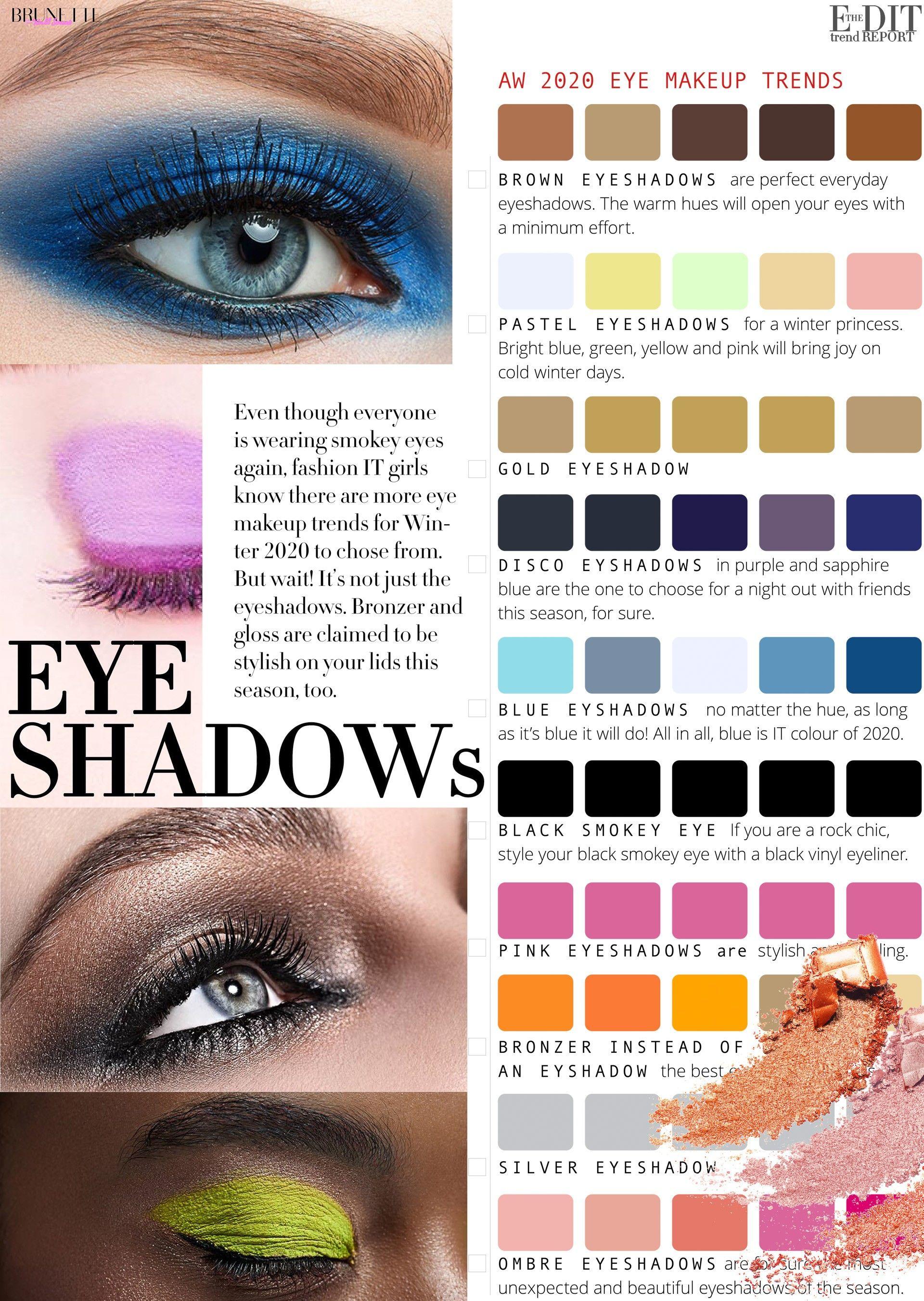 Eye Makeup Trends For Winter 2020 Eye Makeup Makeup Trends