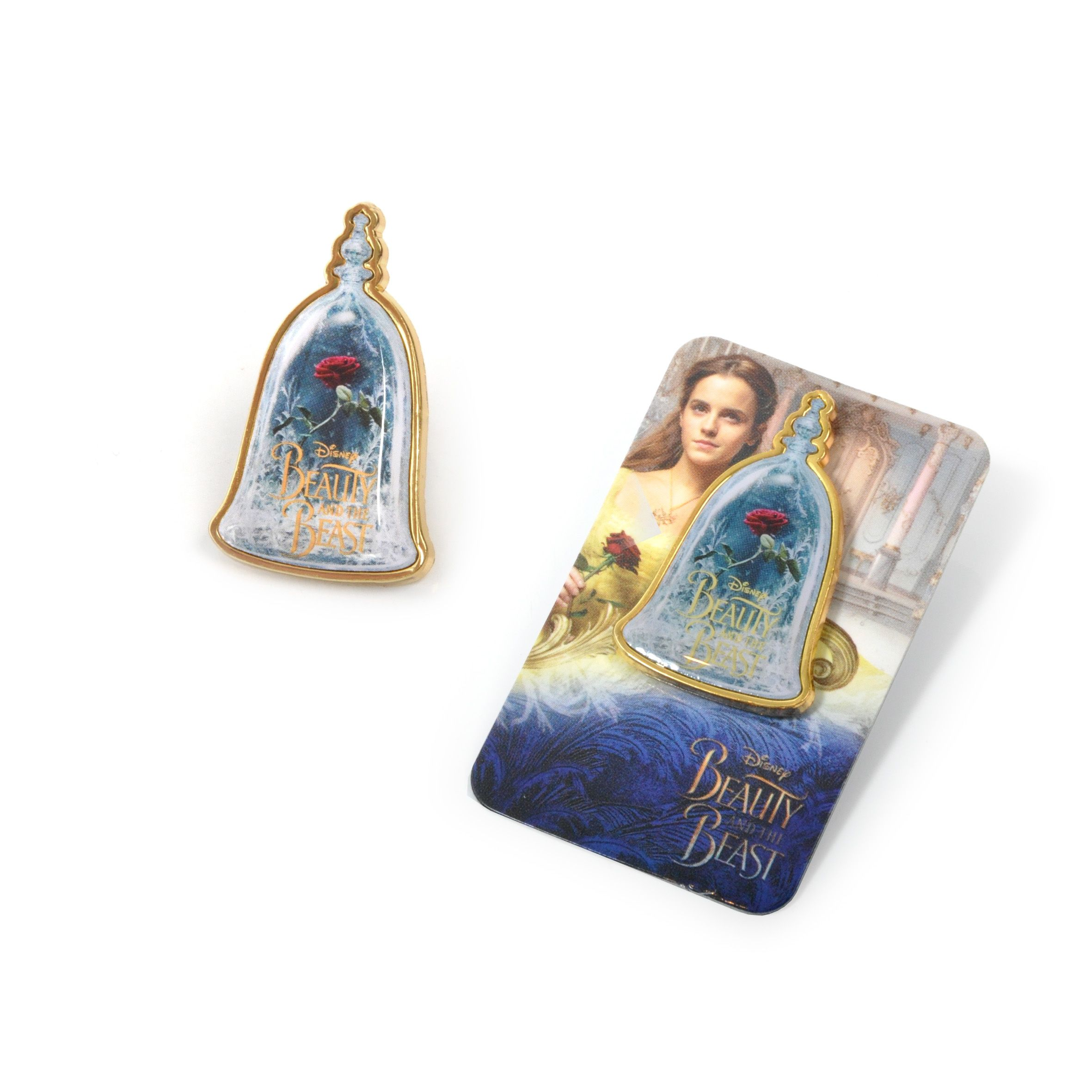 Beauty and the beast live action pin badge by ABOX