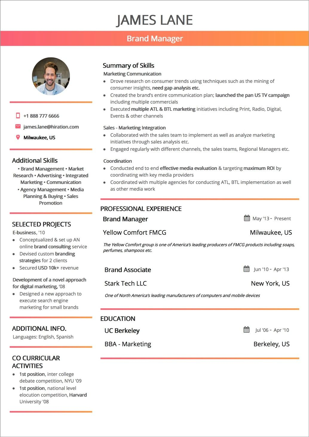 The Best Ideas for Resume Styles 2019 Functional resume