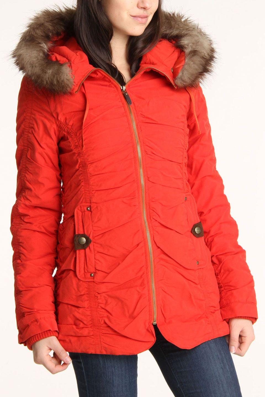 Buffalo David Bitton Ruffle Jacket New Winter Jacket My Style Autumn Winter Fashion Clothes [ 1440 x 960 Pixel ]