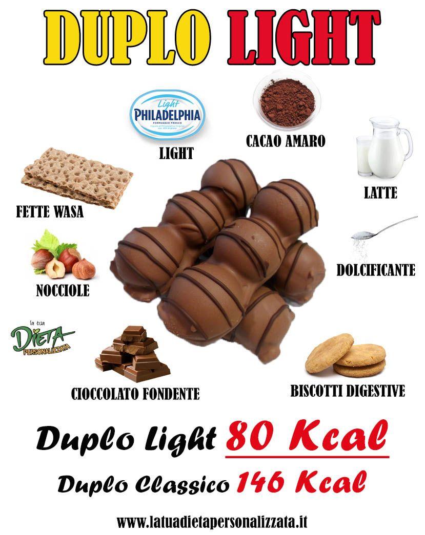 Duplo Light fatti in casa. La ricetta di sole 80 Kcal per chi è a dieta!