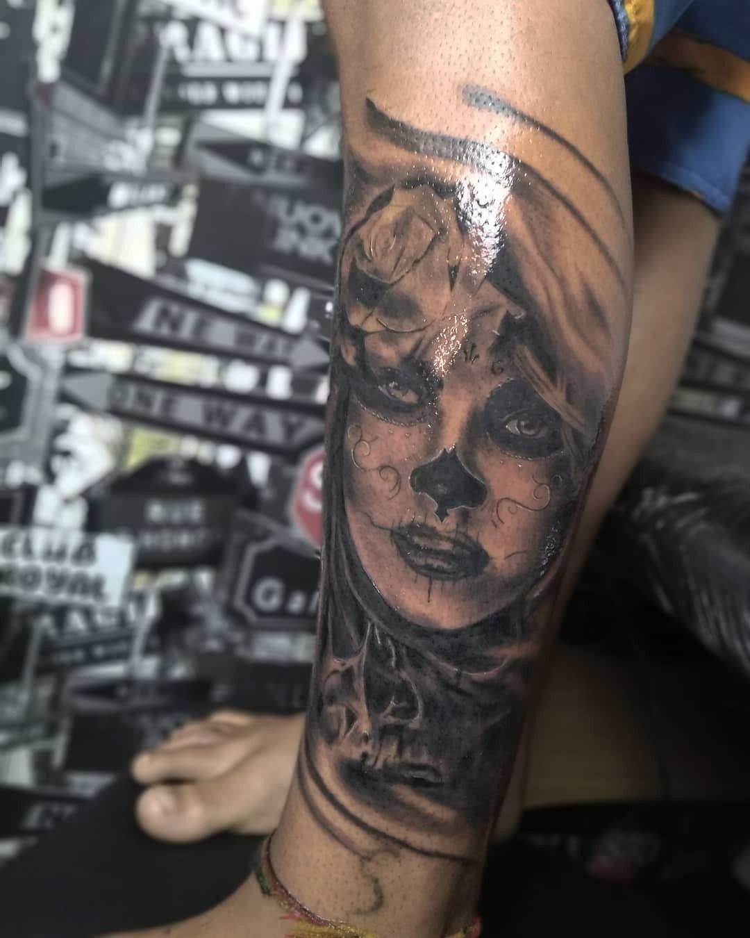 Pin by geo navarro on yeaa portrait tattoo tattoos