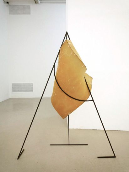 Thea Djordjadze. Trying to Balance on One Hand, Do Not Forget the Center, 2009.
