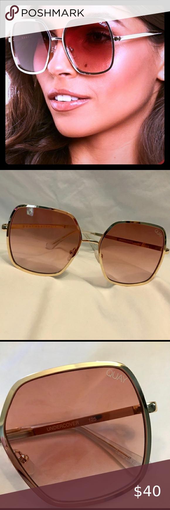 Quay Undercover Large Square Stop Starr Desi Jlo In 2020 Sunglasses Accessories Jlo Oversized Sunnies