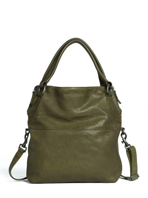 dark olive sticks and stones brisbane bag | A Taschen in