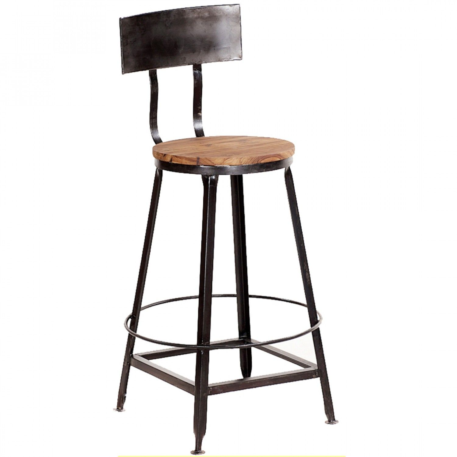 Depiction of Vintage Metal Bar Stools That Will Inspire You in ...