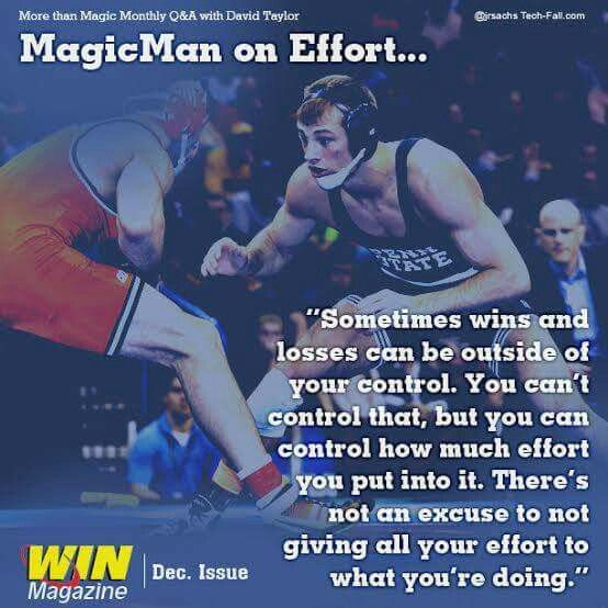 Good Life Lesson On Putting Forth Your Best Effort Wrestling Quotes Sport Quotes College Wrestling