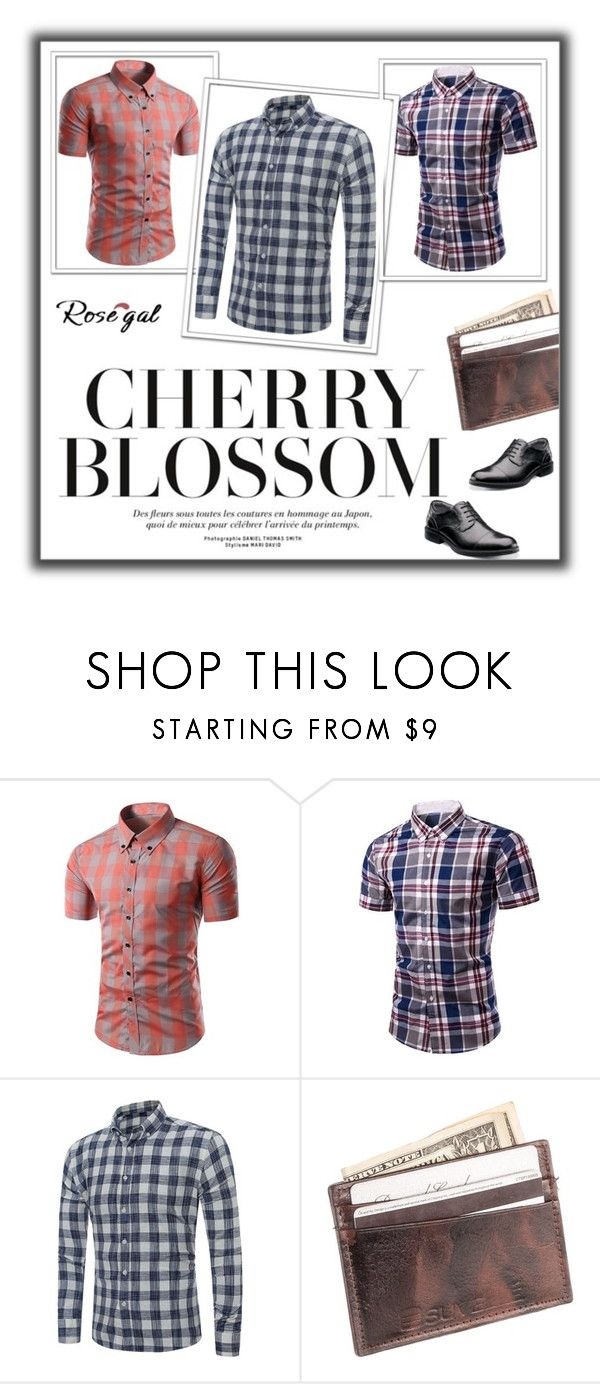 """""""CHERRY BLOSSOM"""" by maja-sifetova ❤ liked on Polyvore featuring Suvelle, Florsheim, men's fashion, menswear, contest, fashionme and rosegal"""