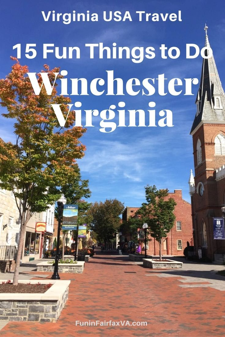 Things to do in winchester va for couples
