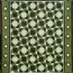 green woven stars