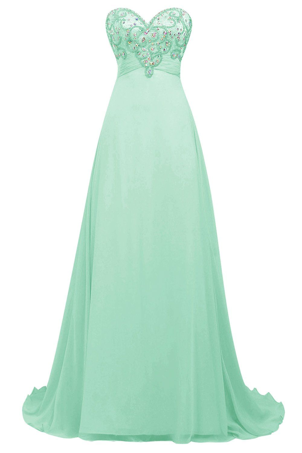Bbonlinedress Maxi Cocktail-kleider Chiffon Ballkleider Sweetheart