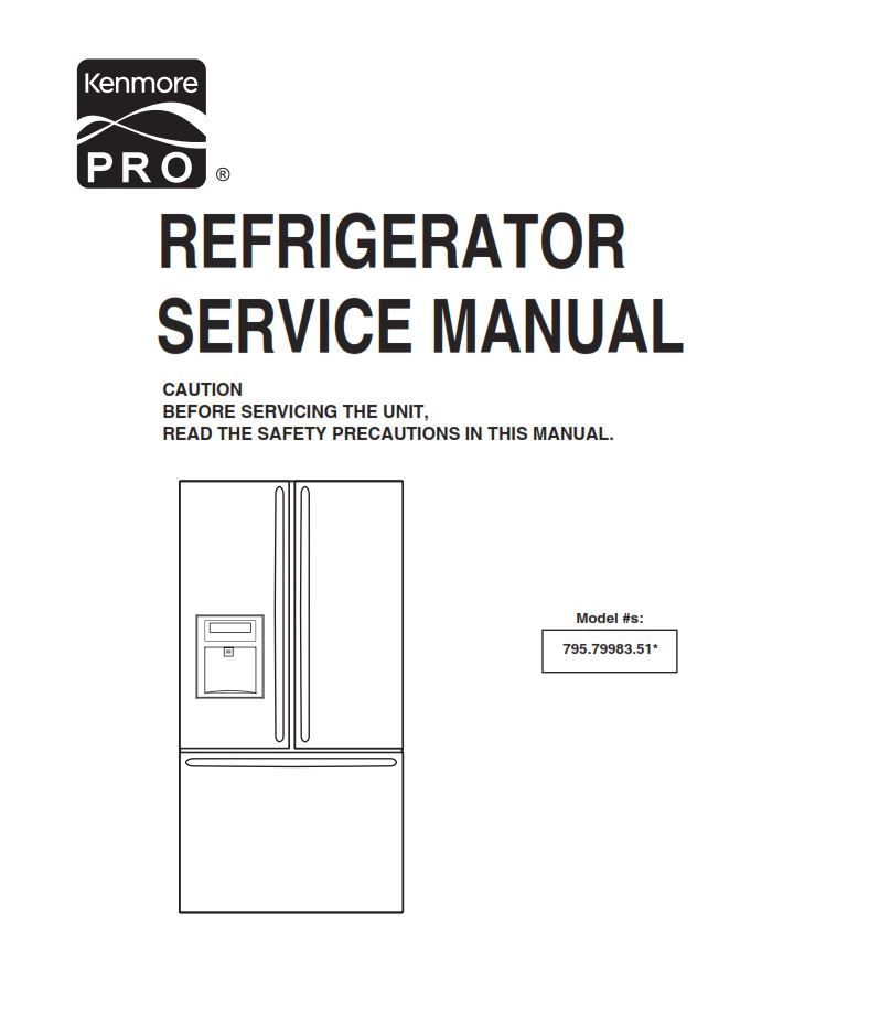 Kenmore Refrigerator Schematic Diagram - Home Tips Home ... on