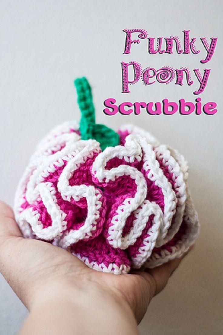TOP 10 Free Dishcloths & Scrubbies Crochet Patterns | Crochet ...
