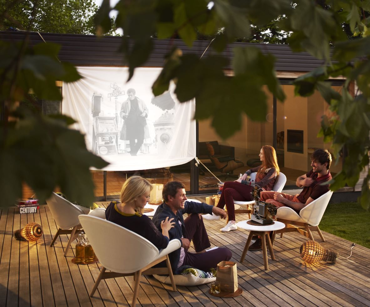 As This Exciting Concept Expands And Our Outdoor Space Becomes Increasingly  Versatile, So Will How We Use It. Cosy Home Made Cinemas Are The Thing To  Try ...