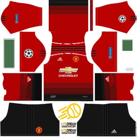 512x512 Manchester United Kits Dream League Soccer Camisetas De Equipo Camiseta Manchester United Uniformes Soccer