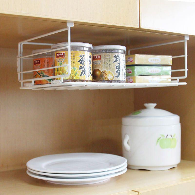Magnificent Under Cabinet Wire Shelving With Best White Paint