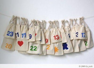 DIY. Fabrica tu propio Calendario de adviento (I)