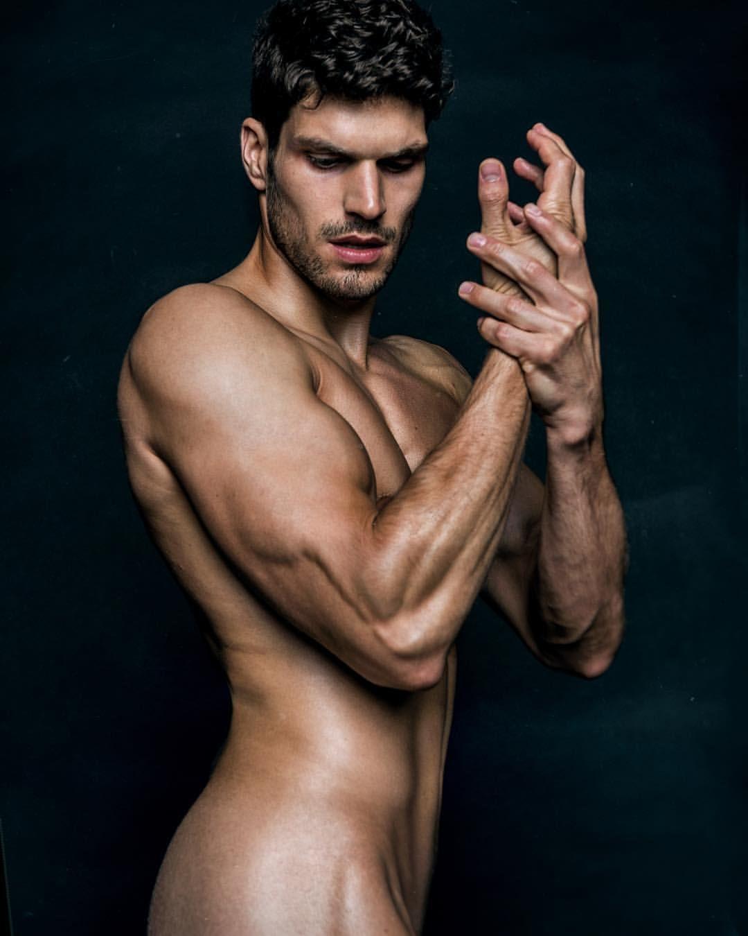 Hot asian model spread naked