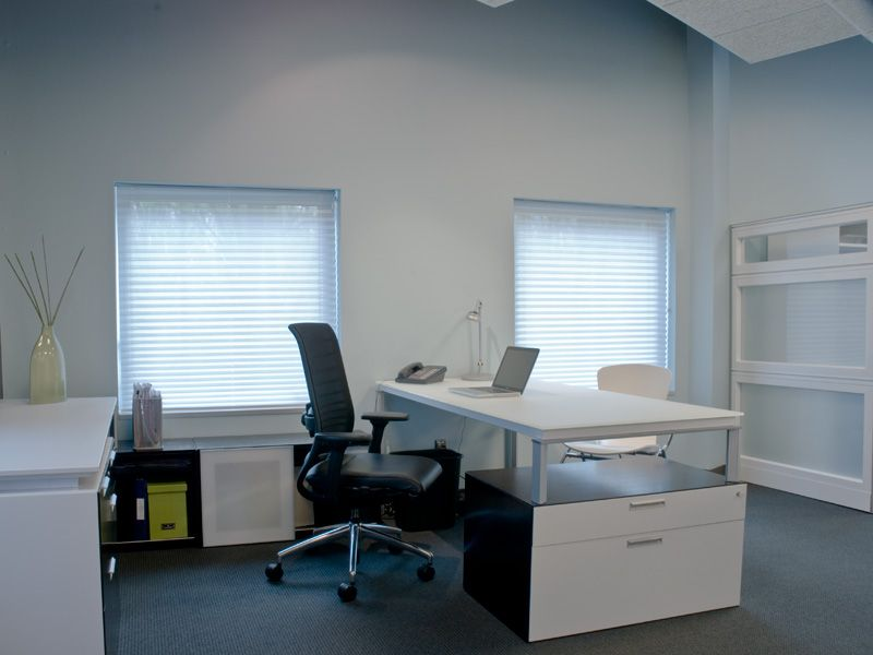 Office designs Private office with Fluent desk